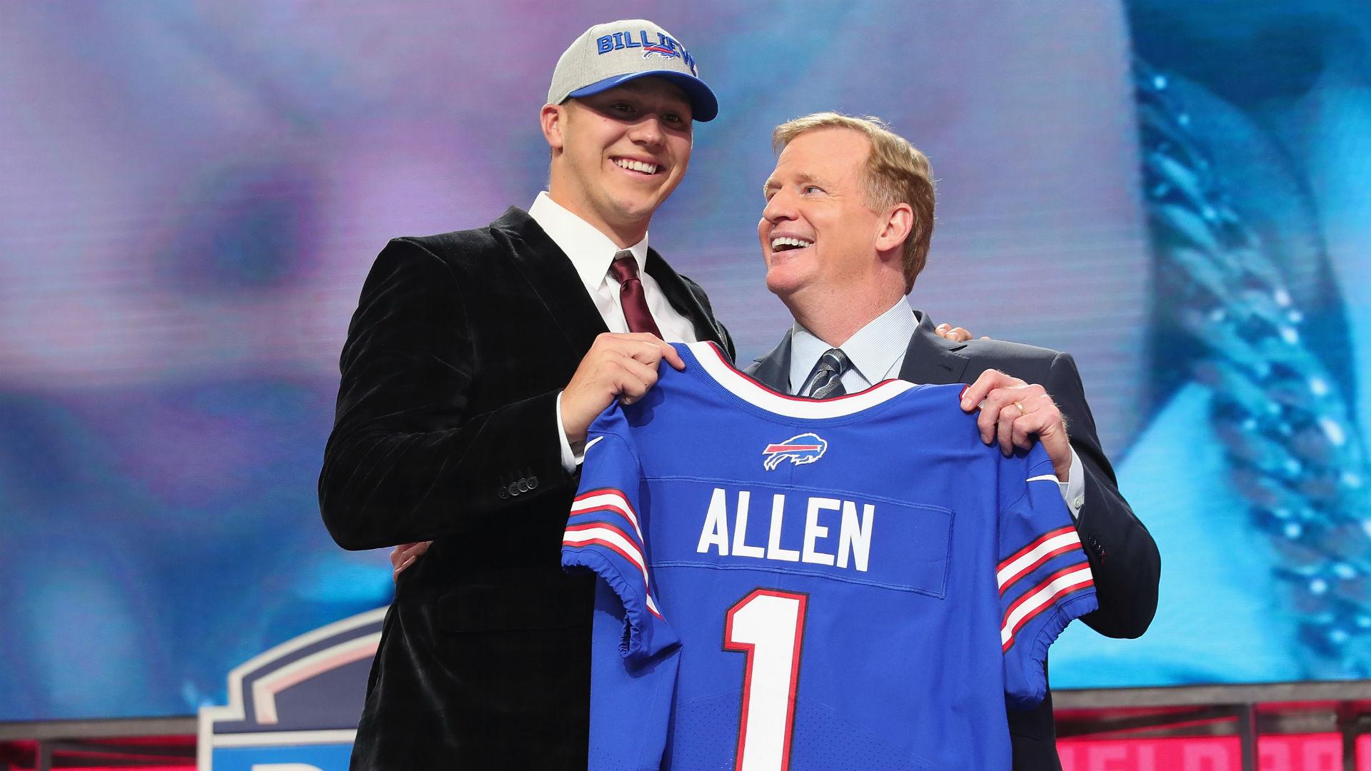 Josh Allen 'blowing people away' at Bills practice, report says