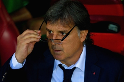 Martino would 'happily swap places' with Madrid duo