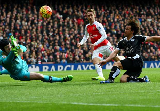 Cech hails 'tricky' win over title rivals Leicester