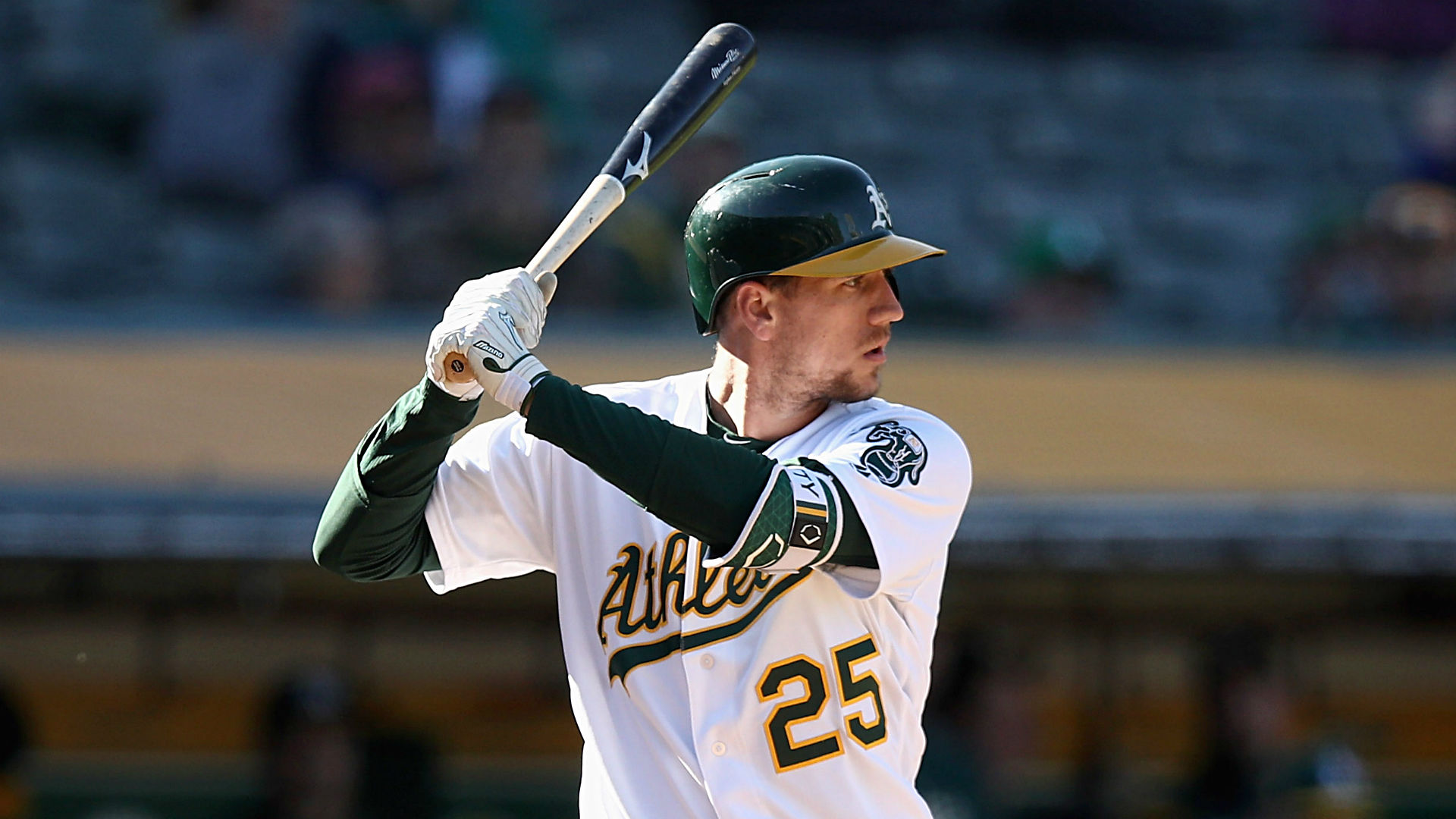 Mother of A's Stephen Piscotty dies at 55 of Lou Gehrig's disease