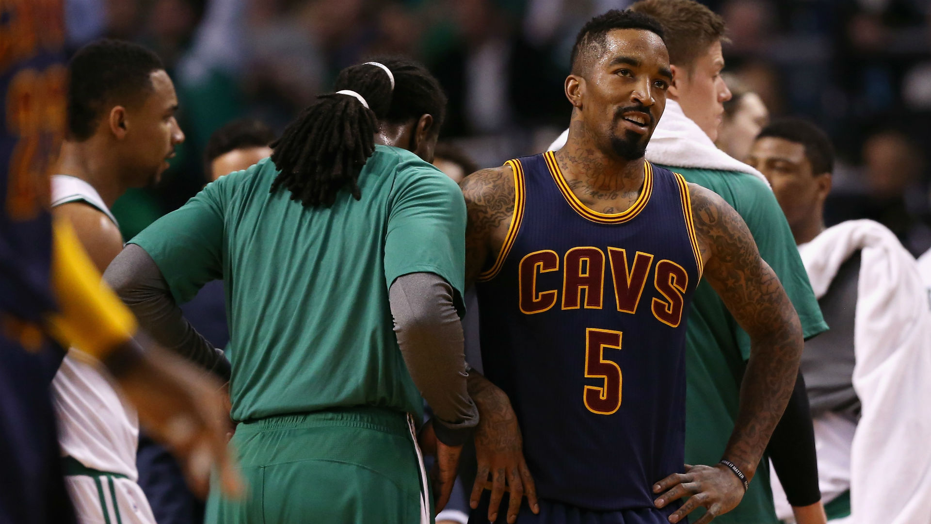 NBA suspends J.R. Smith, Kelly Olynyk in aftermath of Cavs-Celtics series
