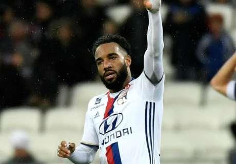 Lyon claim €70m offer for Lacazette