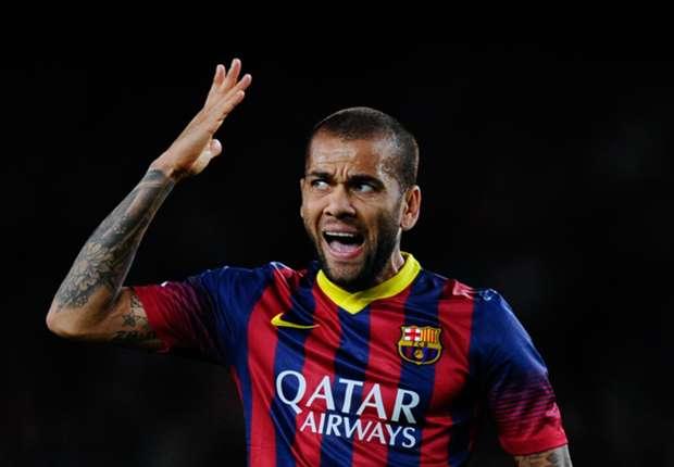 Dani Alves: I don't feel valued at Barca