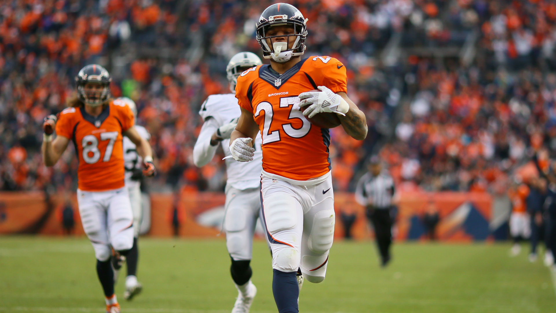 Broncos' RB Devontae Booker expected to miss 6-8 weeks