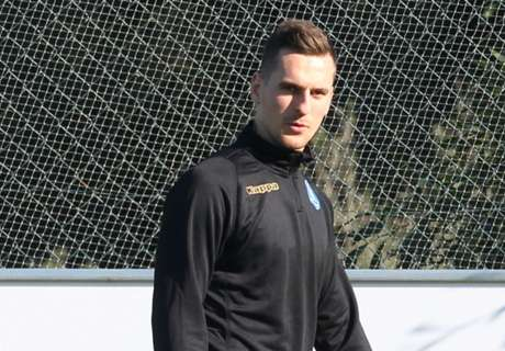 Milik could return this month