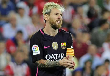 Barcelona reveals Messi injury
