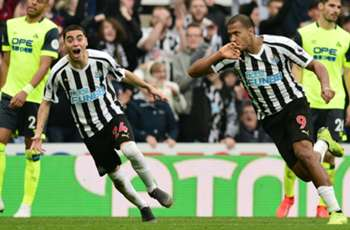 Newcastle United 2 Huddersfield Town 0: Magpies four clear of drop as Almiron sparkles