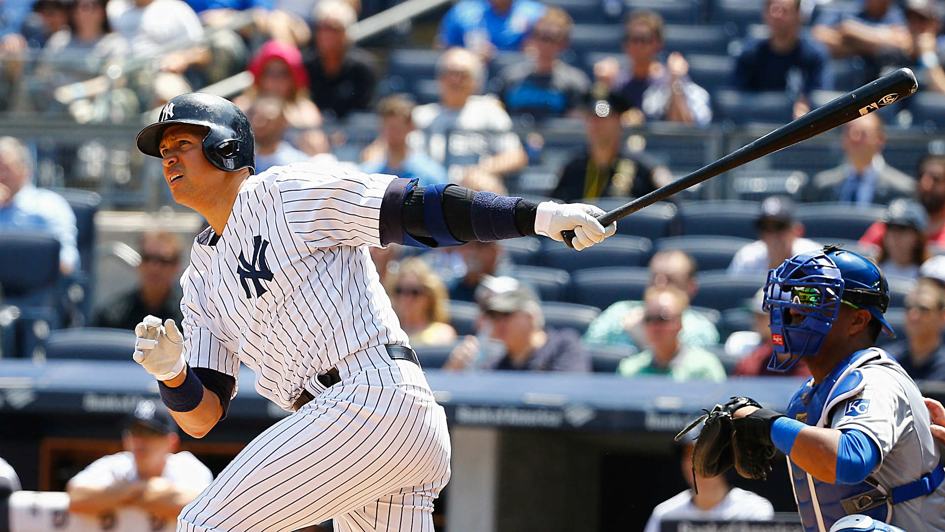 A-Rod either passes or ties Lou Gehrig on baseball's all-time RBI list
