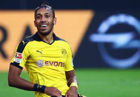 Dortmund give Aubameyang update