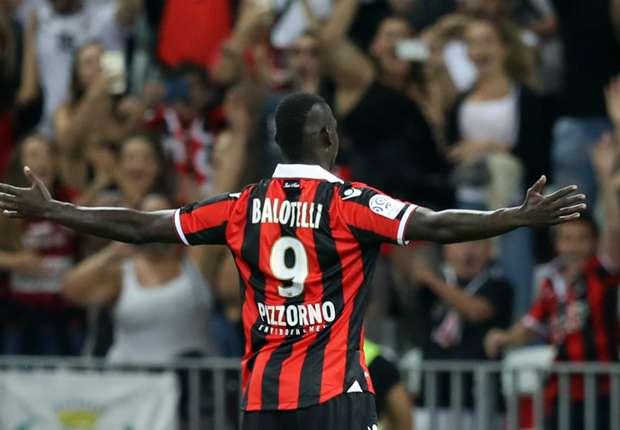 'Nice beat Lyon to Balotelli'