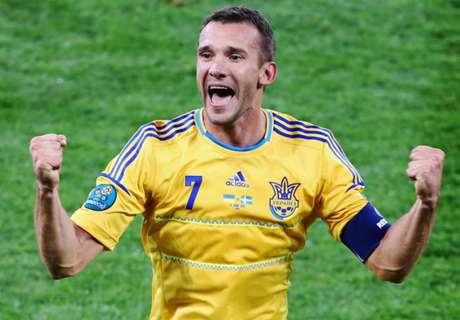 Shevchenko named a Ukraine coach