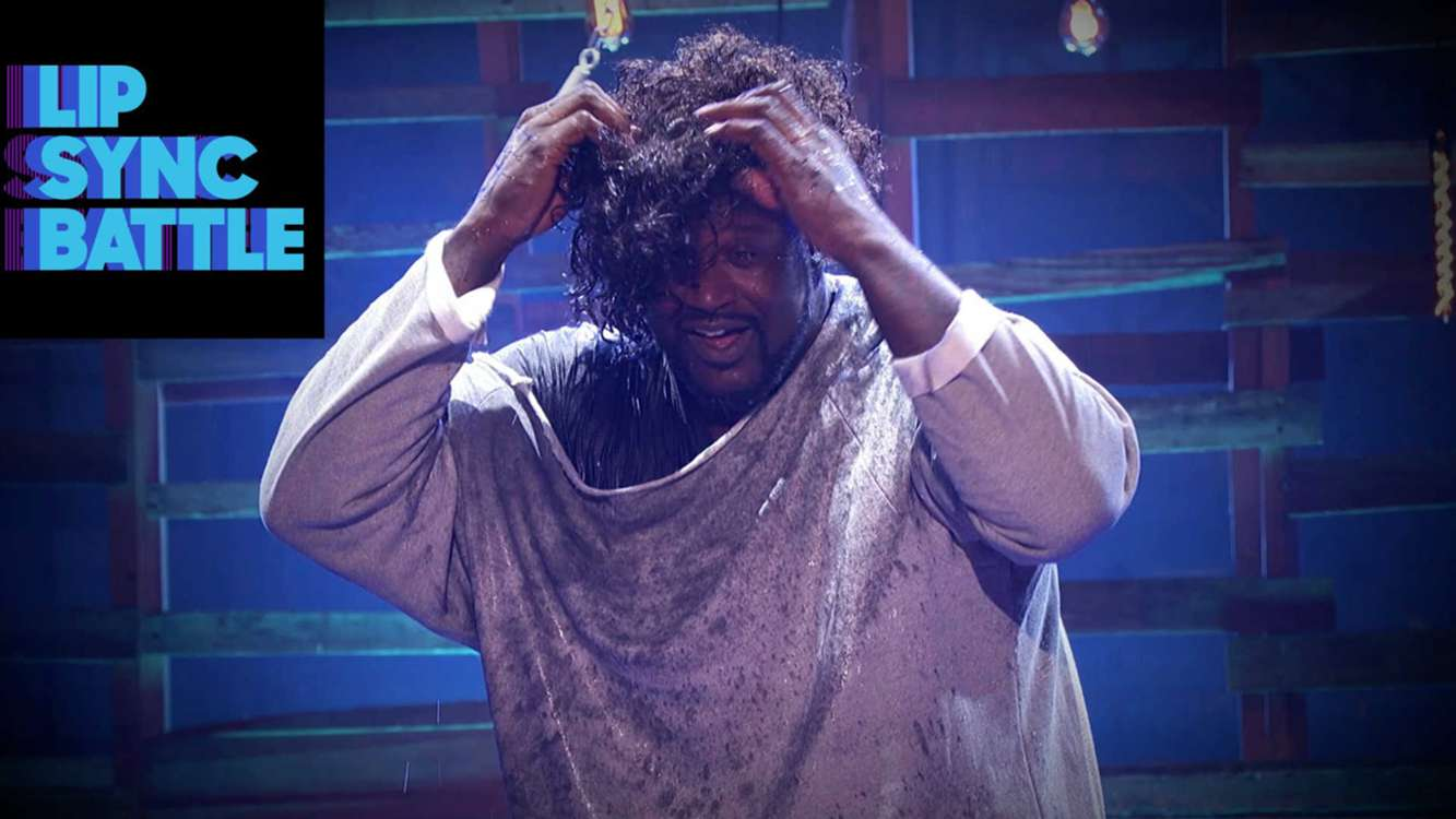 NBA | Why, yes, that IS Shaq lip-syncing 'Maniac' from ...