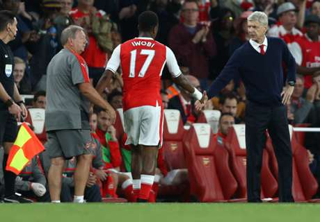 Wenger: Iwobi is too nervous