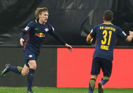 Forsberg and Werner cut Bayern lead