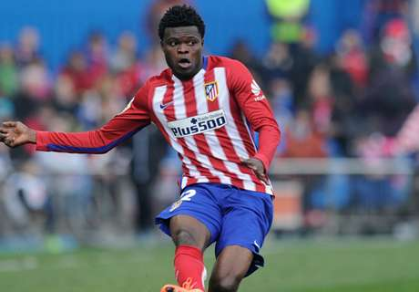 Atletico's Partey suffers thigh strain