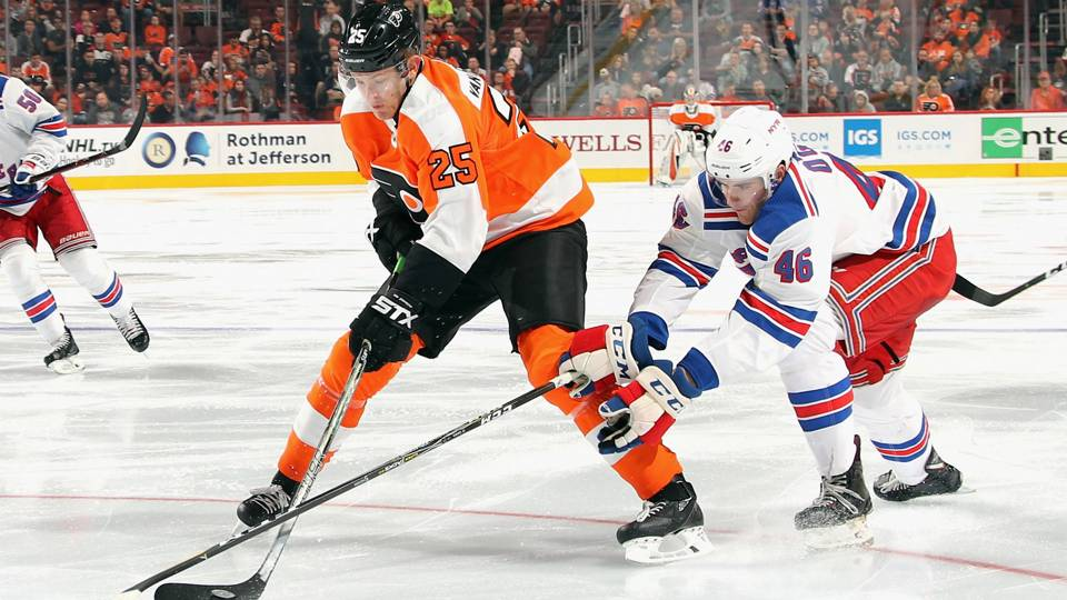2605b67b0 Flyers  James van Riemsdyk out 5-6 weeks with lower-body injury ...
