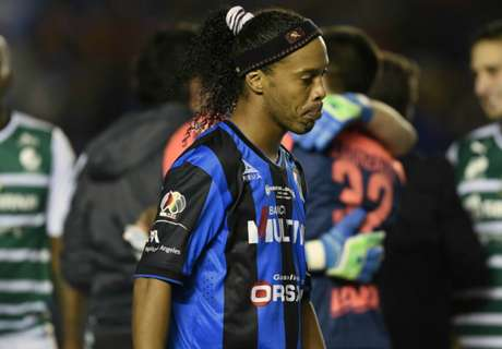 Ronaldinho to leave Queretaro
