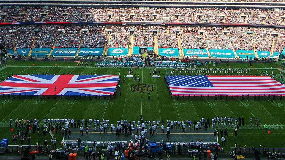 Nfl Releases Schedule For 2018 Games In London Nfl