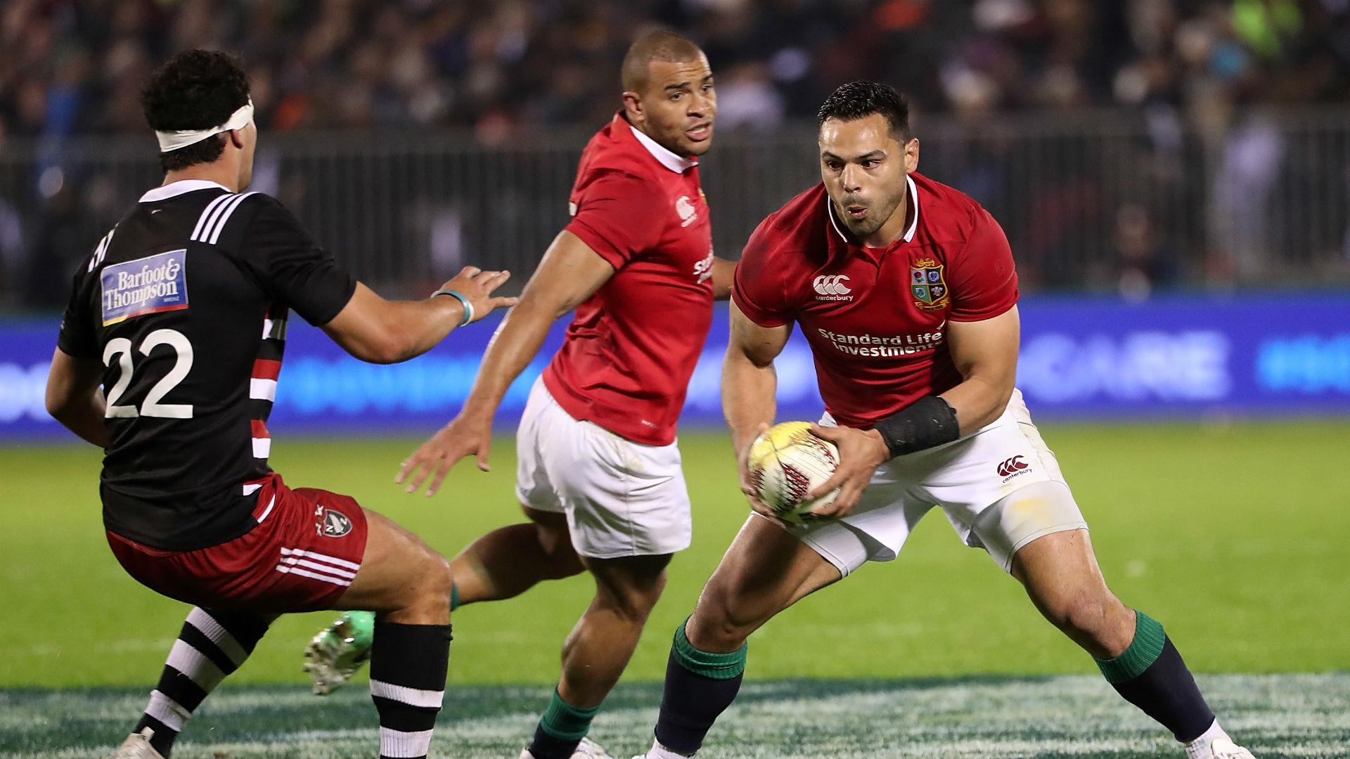 Watson try sends British & Irish Lions on their way