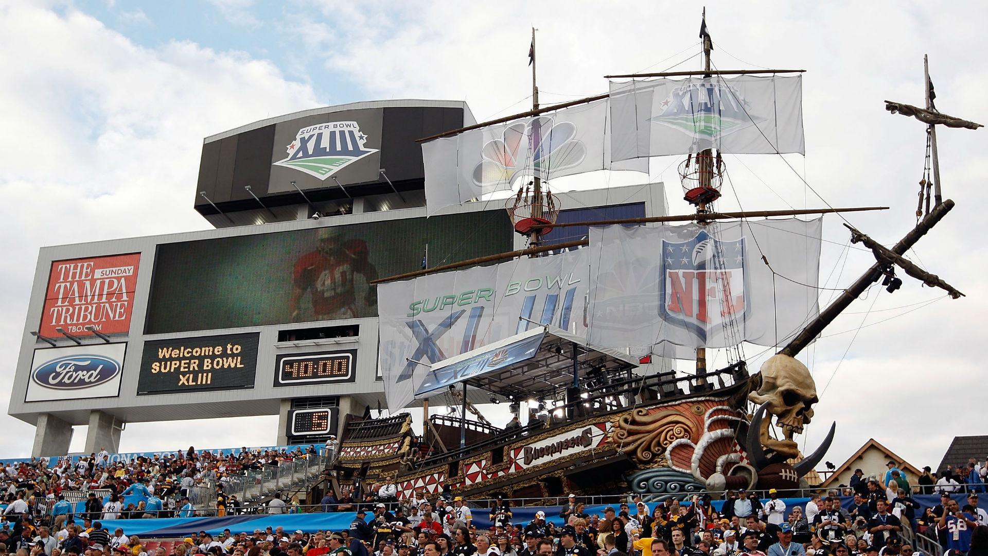 nfl moves super bowl 55 to tampa after los angeles stadium. Black Bedroom Furniture Sets. Home Design Ideas