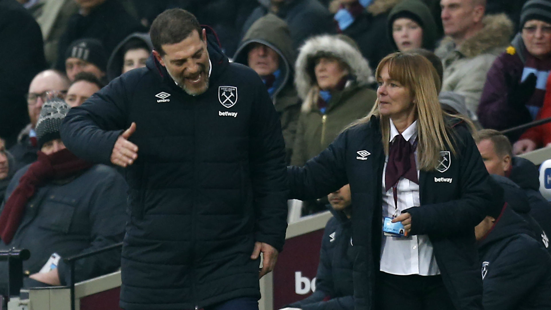 West Ham United star speaks about the mood surrounding the club