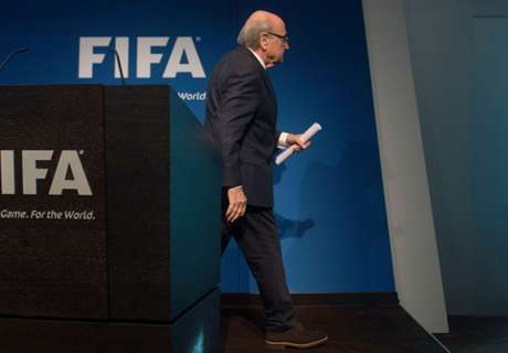 Blatter Finally Leaves FIFA