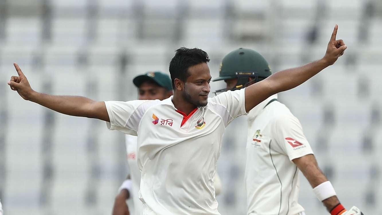 Milestone for Shakib as Bangladesh build 88-run lead against Australia