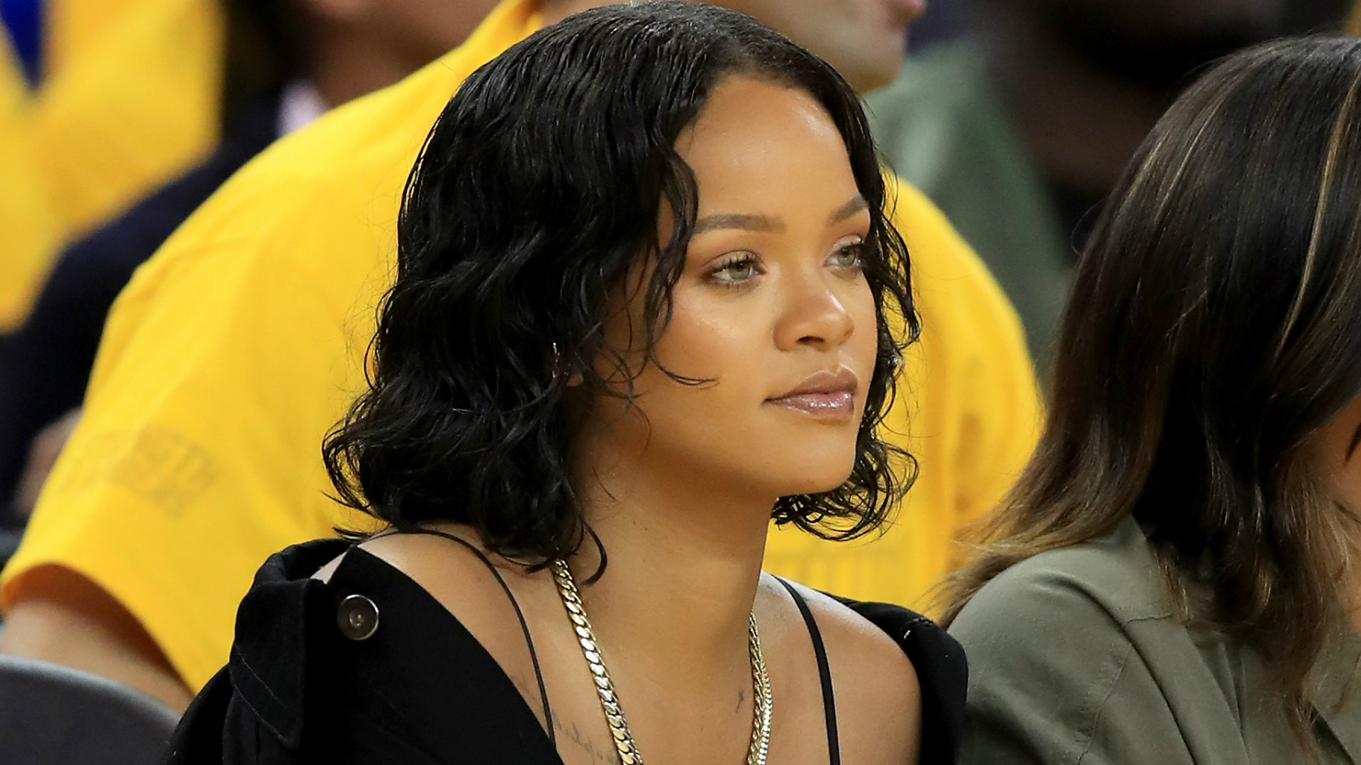 Jeff Van Gundy Got Very Distracted By Rihanna At The NBA Finals