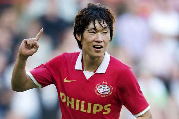 South Korean midfielder Park Ji-sung