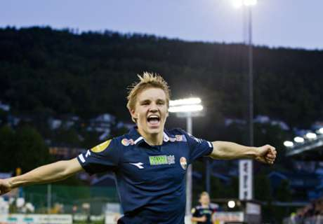 Official: Madrid confirm Odegaard deal