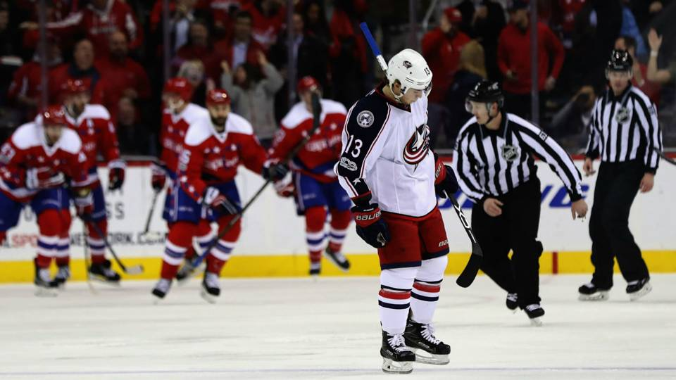 Blue Jackets' win streak ends at 16, one shy of NHL record | NHL ...