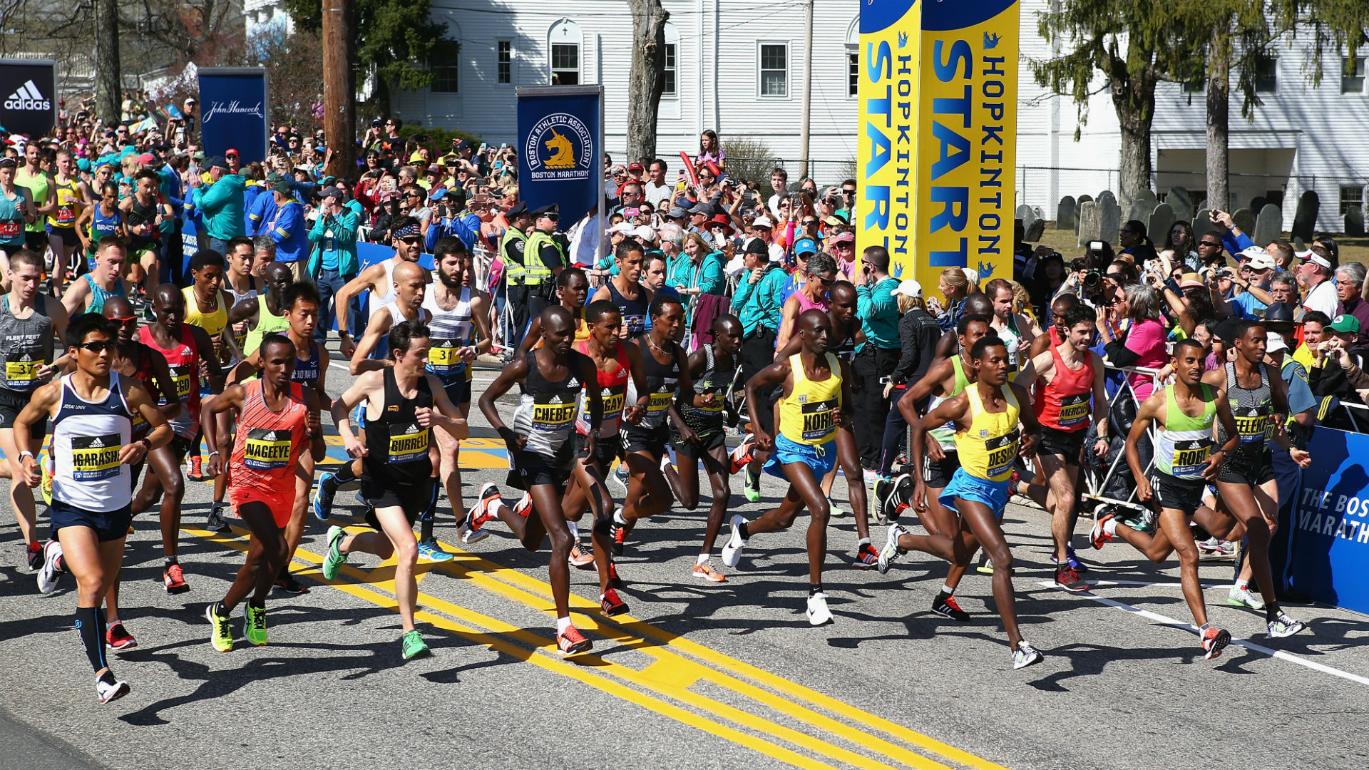 Boston Marathon 2016: Lemi Berhanu Hayle, Atsede Baysa prevail on ...