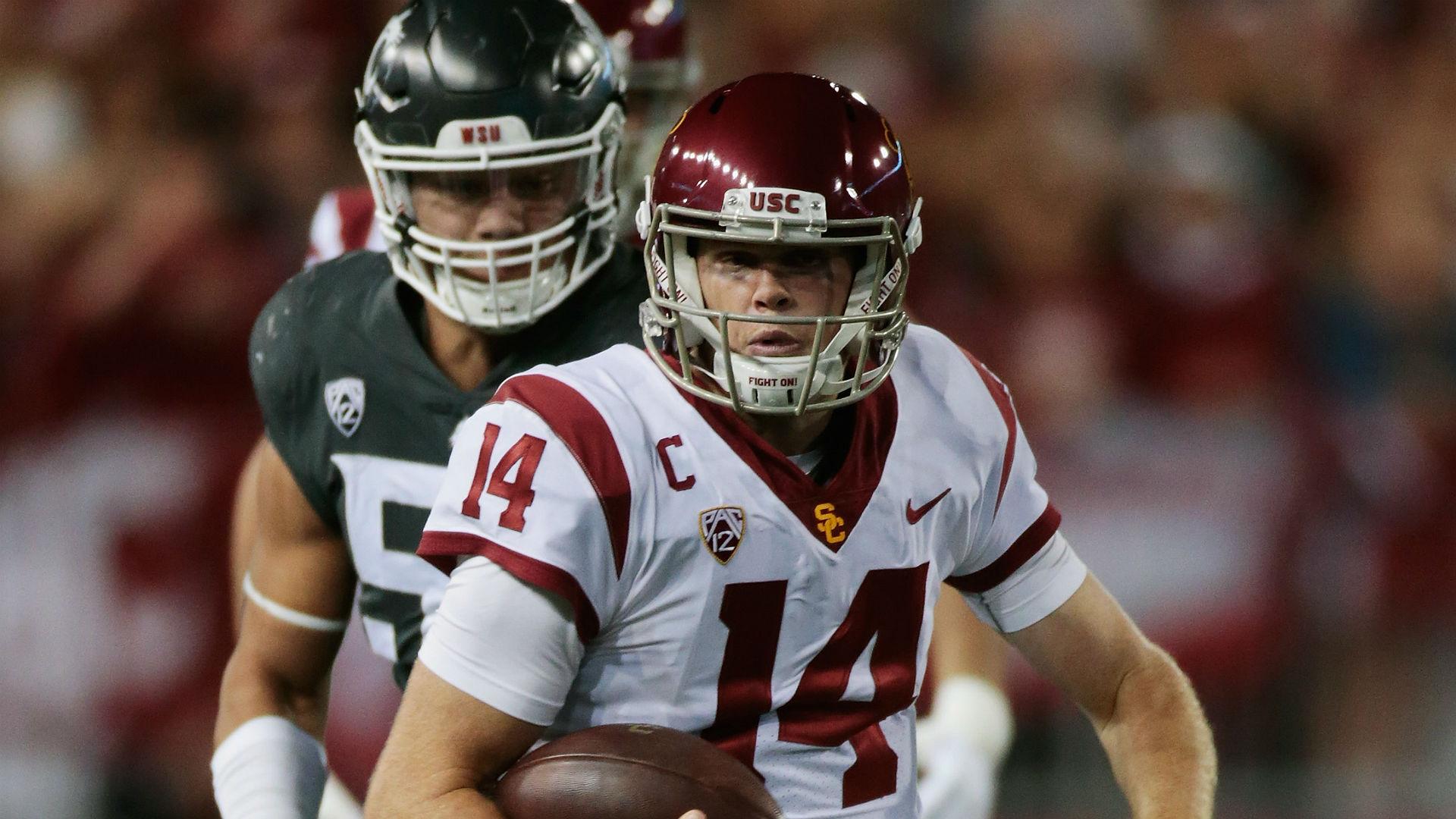 Sam Darnold fumble seals loss to Washington State