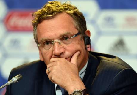 Valcke banned for 12 years by Fifa
