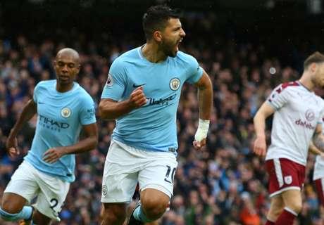Sábado histórico na Inglaterra: Aguero se torna maior artilheiro do City, e Huddersfield quebra tabu de 65 anos contra United