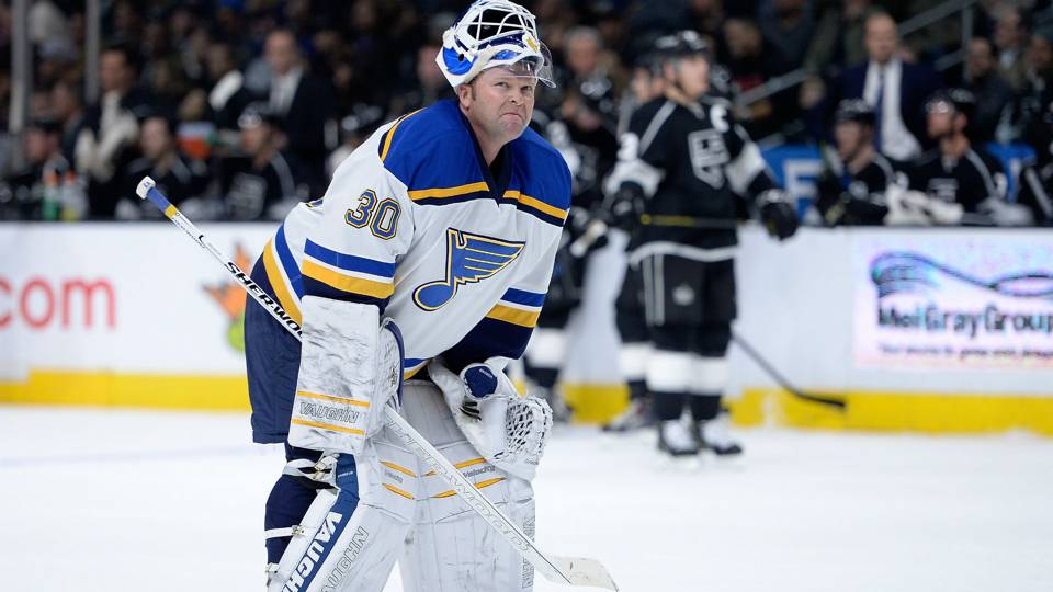 Image result for martin brodeur blues