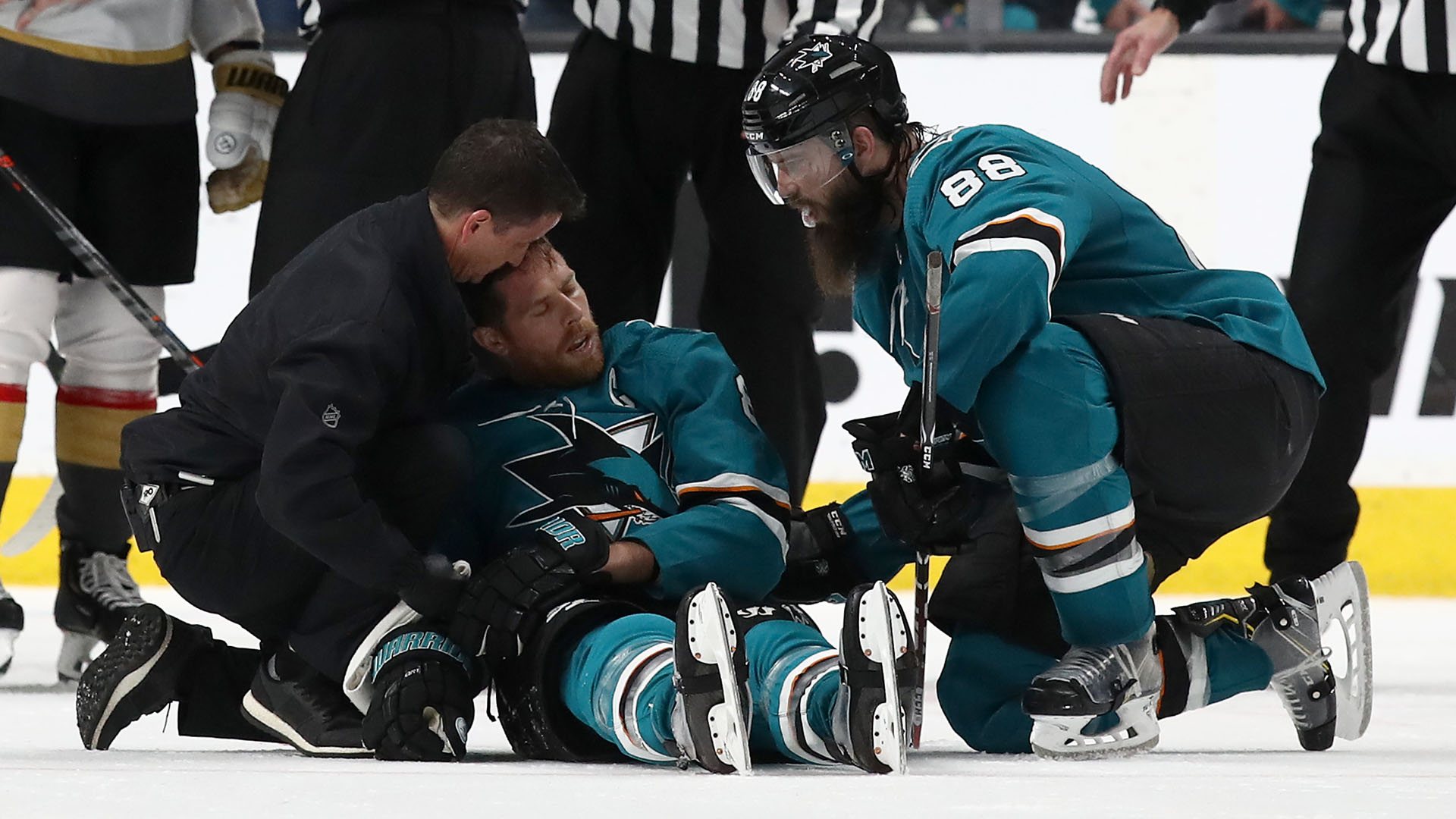 Joe Pavelski injury update: Sharks captain says play that injured him wasn't a penalty