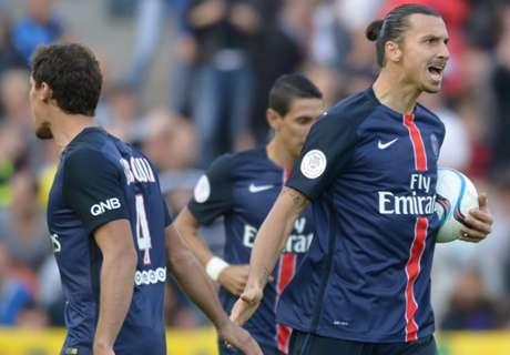 RATINGS: Nantes 1-4 Paris Saint-Germain