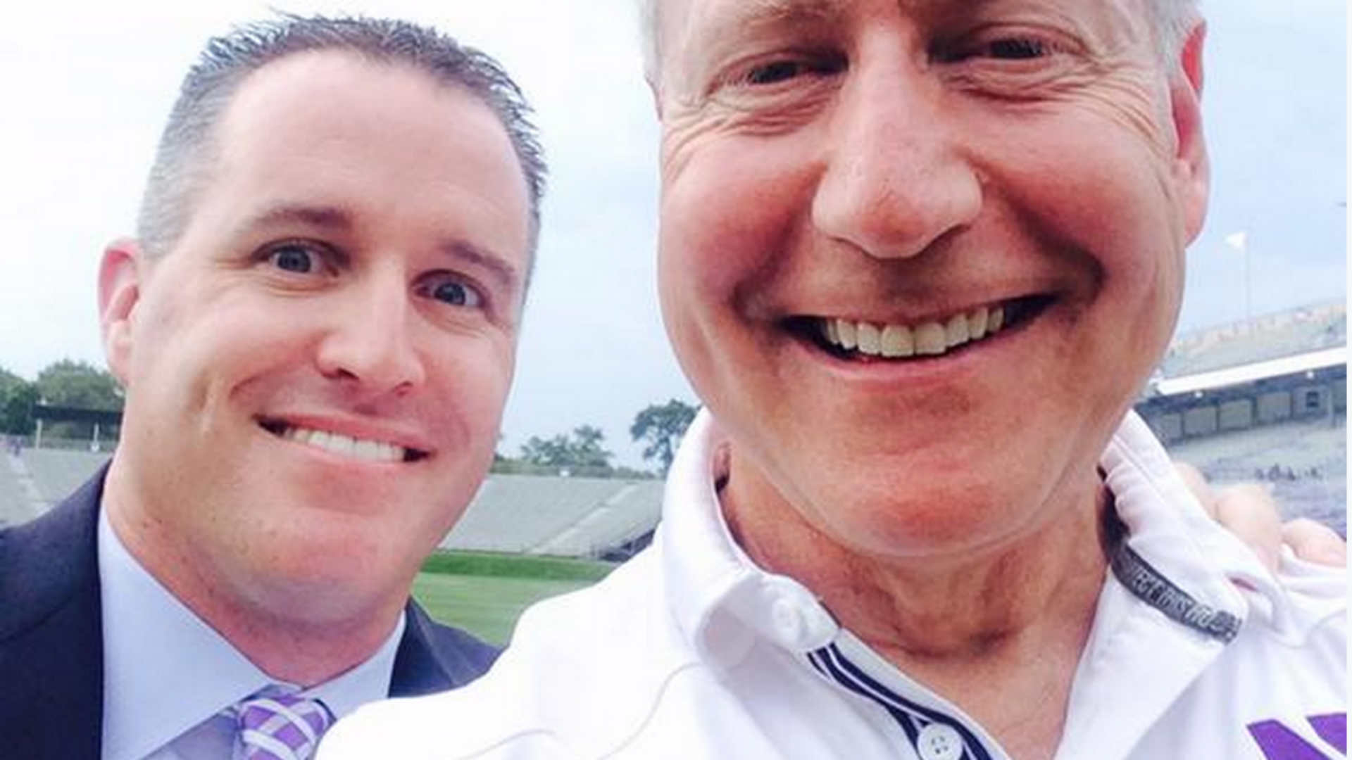 Selfies and signed football with Pat Fitzgerald? That'll cost you $125 |  NCAA Football | Sporting News