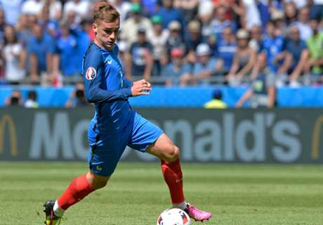 Griezmann: I want to play in the centre