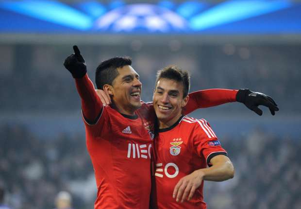 Gaitan targets knockout phase with Benfica