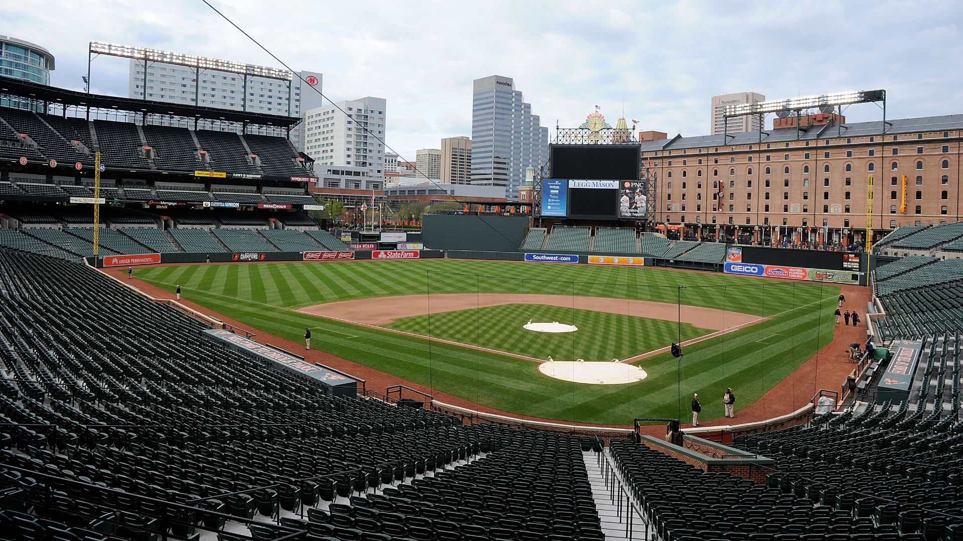 Orioles baseball in Baltimore to resume Wednesday — without fans
