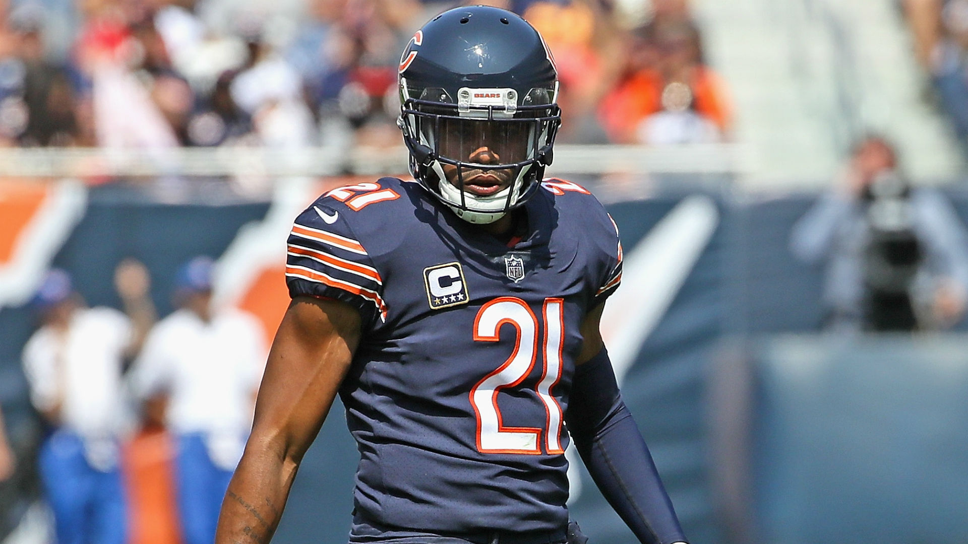 Bears safety Quintin Demps out indefinitely with broken arm