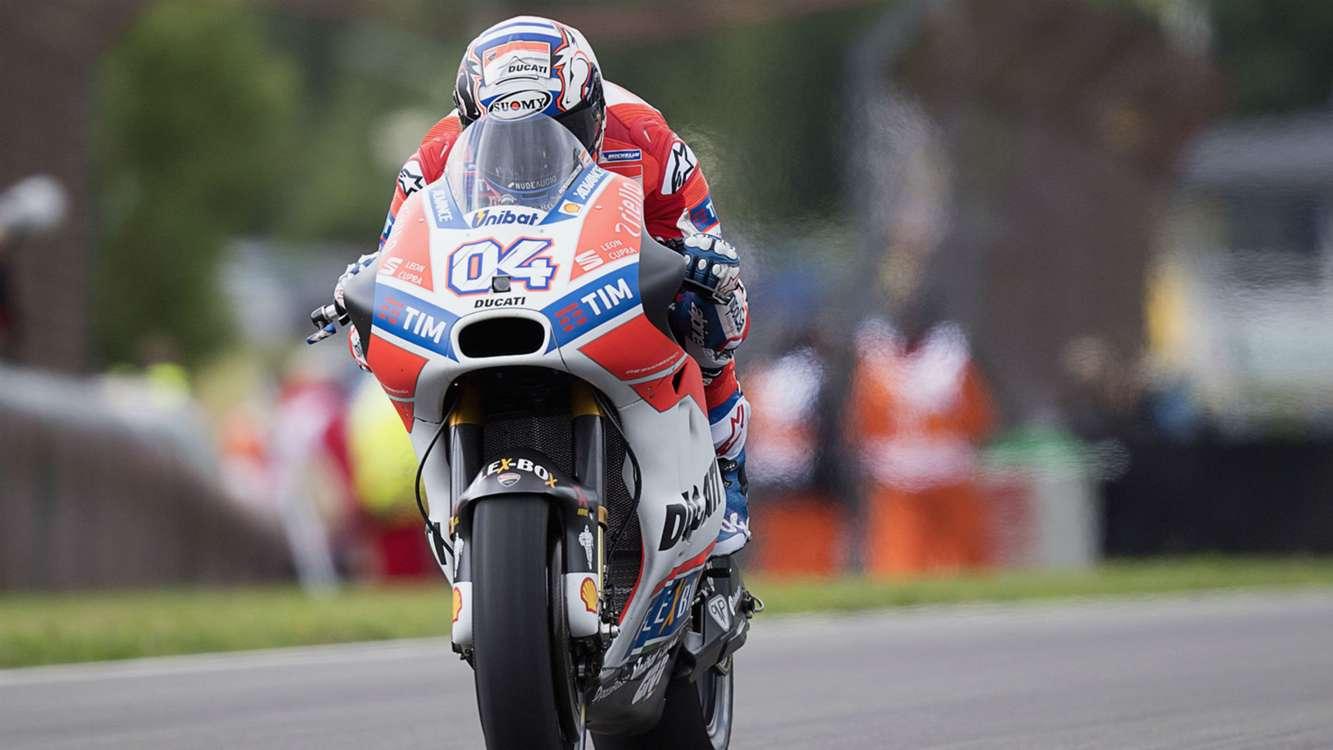 Dovizioso fastest in Brno practice