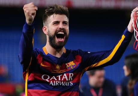 Pique: Barca deserved Copa del Rey