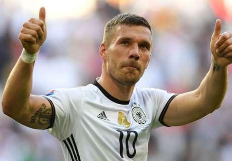 Podolski retires from Germany