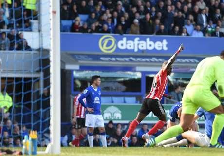 Everton 1-1 Southampton: Mane strike