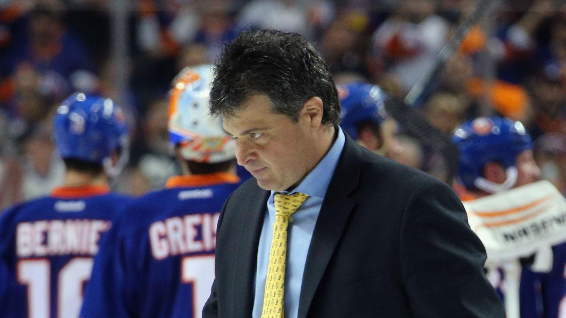 Islanders fire head coach Jack Capuano