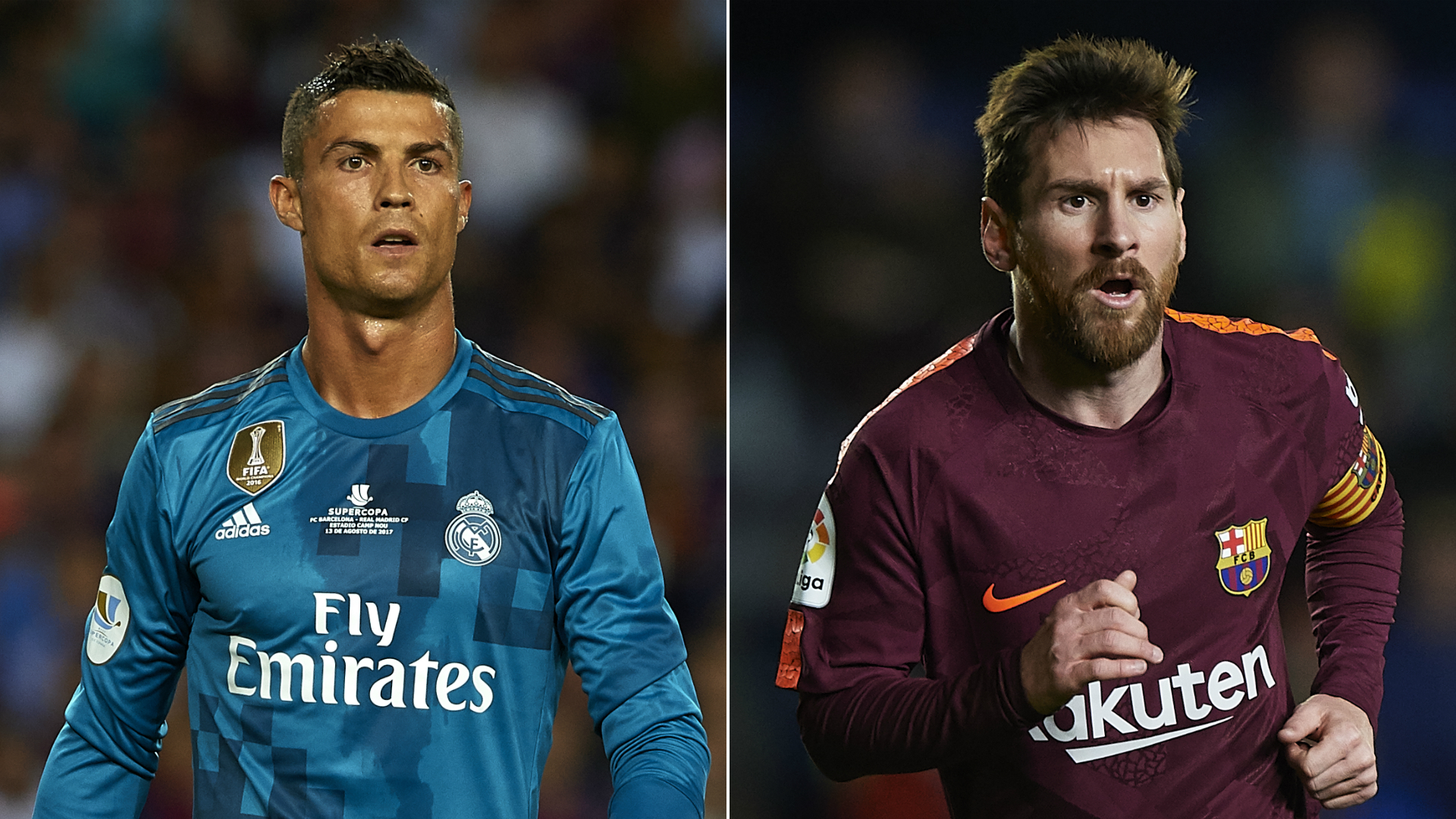 Real Madrid V Barcelona Ronaldo And Messi S Head To Head Clasico