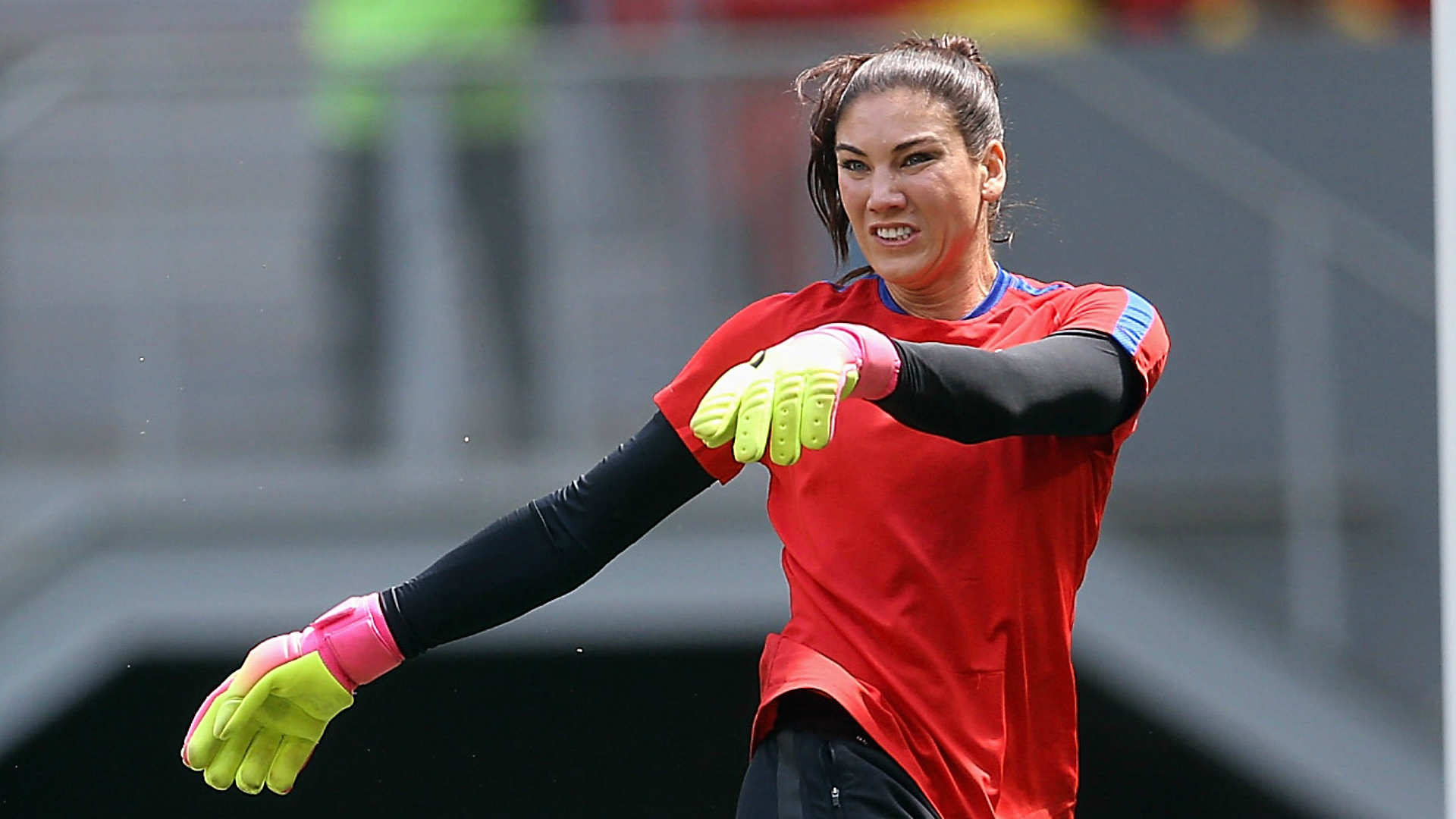 Hope Solo suspended from U.S. women's team for 6 months ...